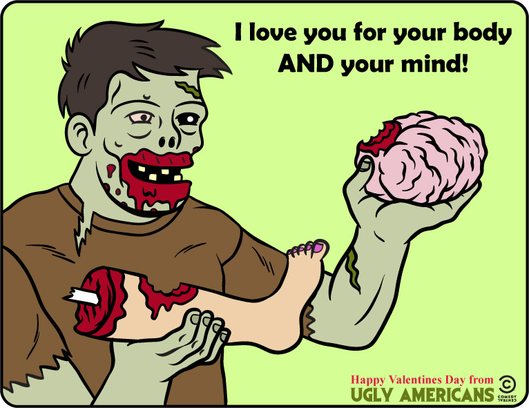 manimator:  Ugly V-Day card number four! Randall thinks you are very sweet…tasting.