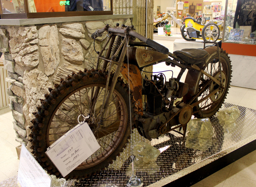 True Death Race Motorcyclepedia's 1930s J.A.P. Ice Racer