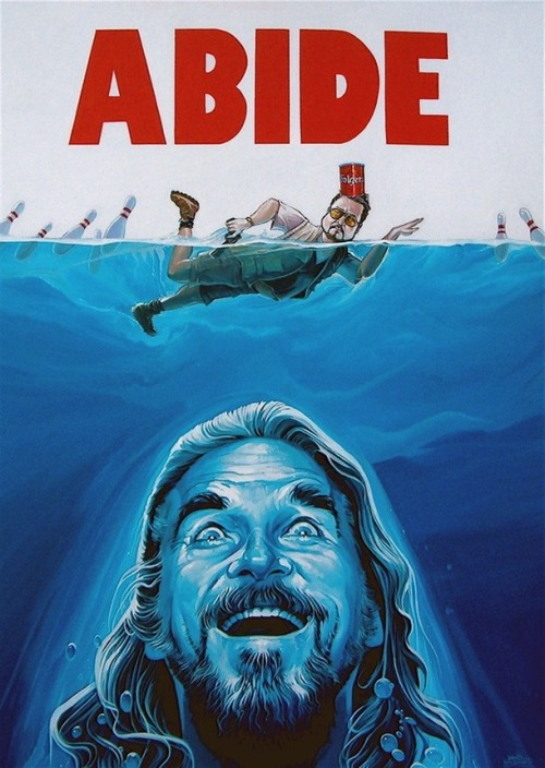 The dude abides..