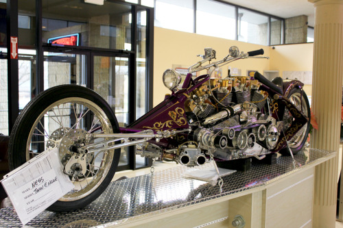 Custom and Hollywood bikes at Motorcyclepedia