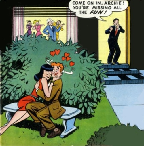 """Missing all the Fun""  (August, 1959. Archie Comics, Issue # 103)"