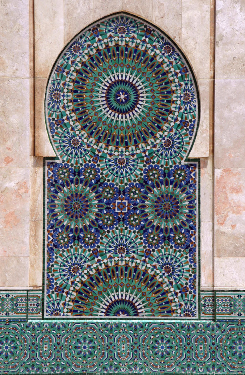 Mosque Hassan II, Casablanca (by amerune)