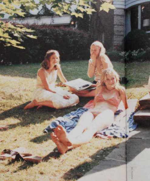 photographed by Corinne Day for The Virgin Suicides