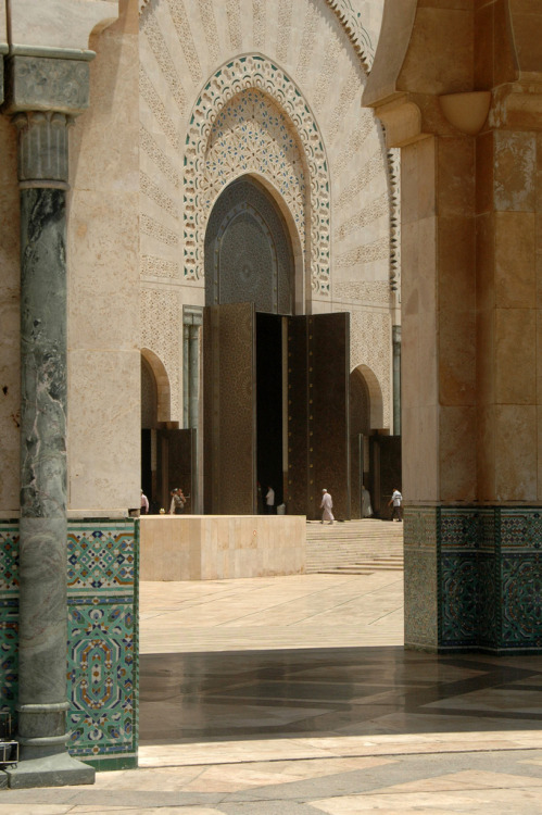 Mosque Hasan II, Casablanca by amerune