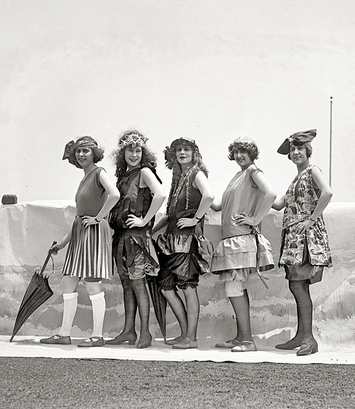 Lansburgh Bathing Girls, 1922.