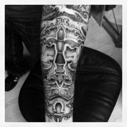 Session 2 on this little jam (Taken with Instagram at New Republic Tattoo)