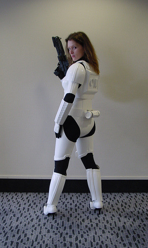 My femtrooper costume (female stormtrooper)