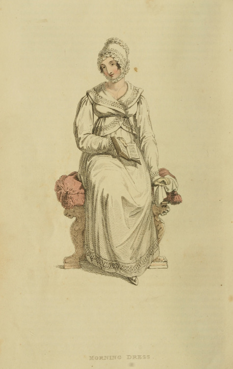 Morning dress, 1815 UK, Ackermann's Repository