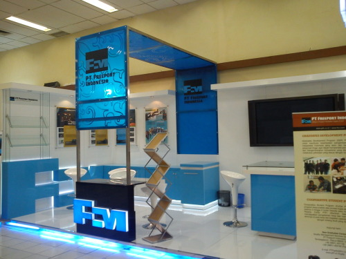 Ini Stand PT. Freeport Indonesia
