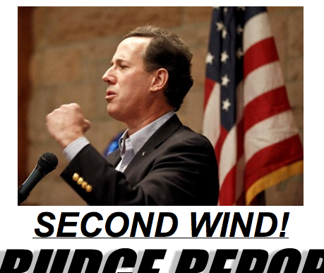 Second Wind + Santorum = more mopping up!