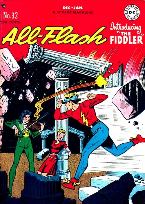 5feet12inches:  All Flash Comics - Number 32, 1947
