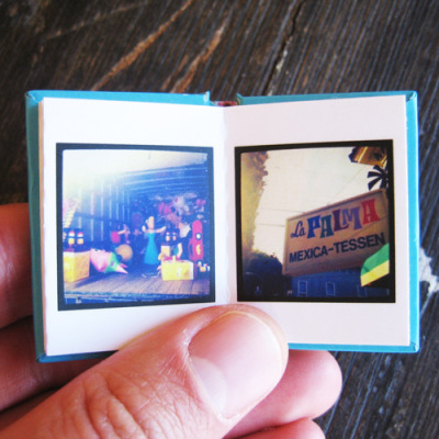 "Obviously, I will be making a ""Tinybook"" of my Instagram pictures in miniature for the dollhouse."