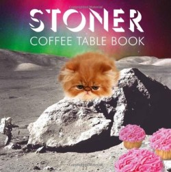 Stoner Coffee Table Book from urban outfitters. I don't smoke but I'd put my money that this is hilarious for people who do.