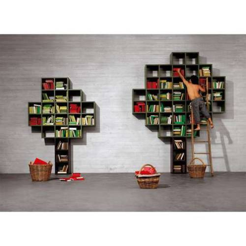 booklit:  Apple Tree Bookshelves
