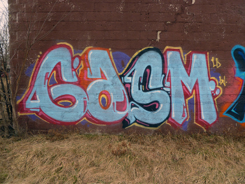 GASM. Detroit 2011 on Flickr.GASM. #Detroit #Graffiti #Graff Writer.