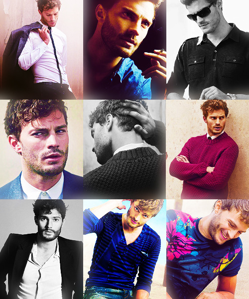 9 Photos of Jamie Dornan → asked by plausibledeniability-