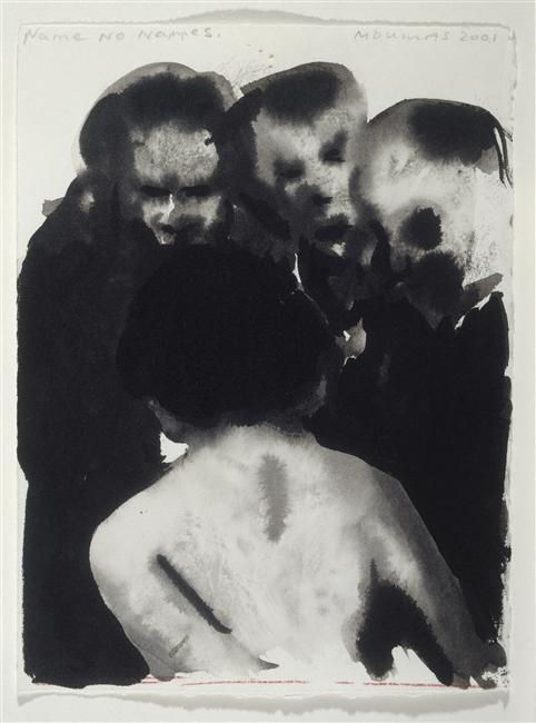 havesexwithghosts:  Marlene Dumas, Name No Names, 2001