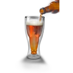 Upside down beer bottle glass - now that just genius It's on Amazon for $14.60