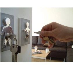 Human key holders - for us classy folk They're on Amazon for $39.95