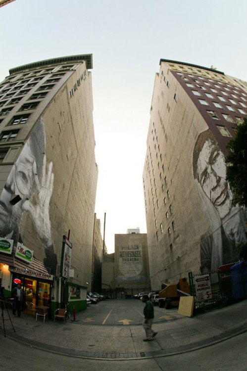To see more of the amazing VHILS click the pic.