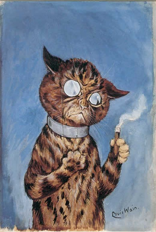 mudwerks:  (via Category:Cats by Louis Wain - Wikimedia Commons)  Louis Wain