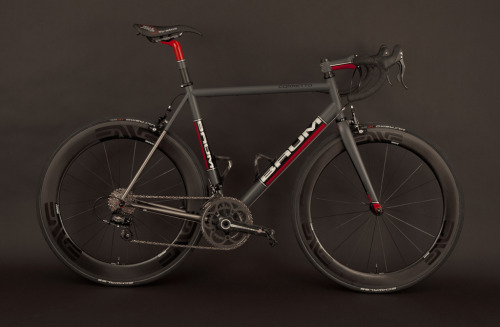 bikecheckonetwoonetwo:  GTB, Grey, Red, Corretto (by Baum Cycles)