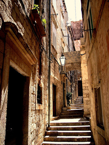 travelingcolors:  Old Town, Dubrovnik | Croatia (by Ferry Vermeer | iwannagohere)