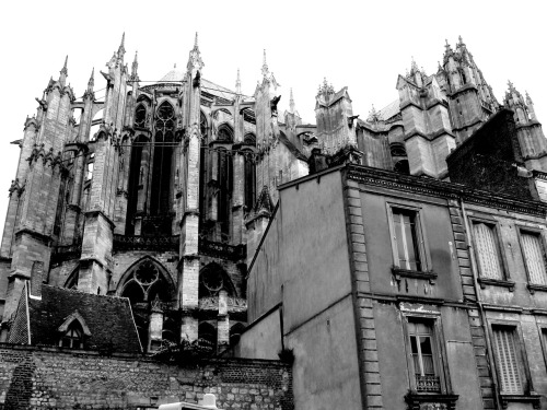 Cathédrale Saint-Pierre de Beauvais : Beauvais, France