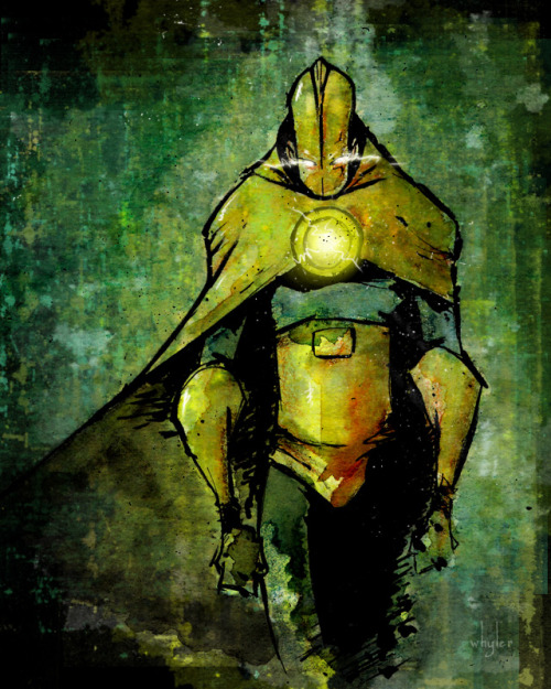 timetravelandrocketpoweredapes:  Doctor Fate Commission by Noah Whyler
