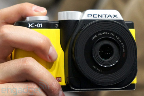 Pentax K-01 Mirrorless Digital Camera