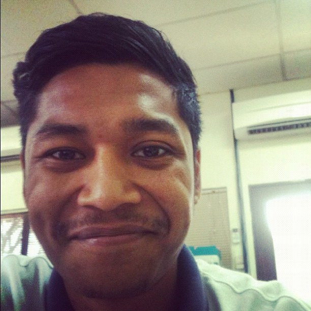 Say hi to @moshtradamus  (Taken with instagram)