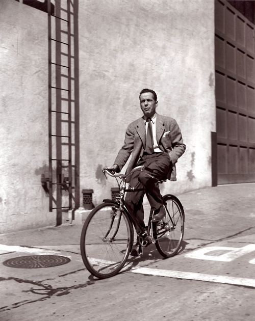 cyclingcelebrities:  Bogart Biking