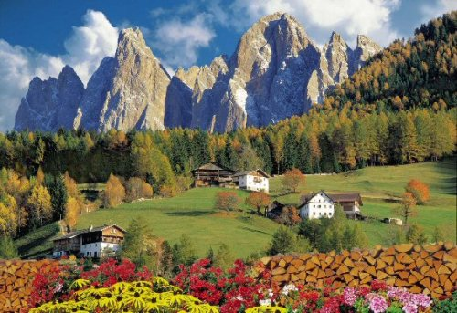 Dolomites valley