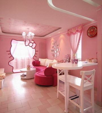 Hello Kittty Room :D