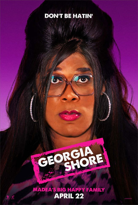 "LMAO @ ""GEORGIA SHORE"" and Madea as SNOOKI haahaahah"