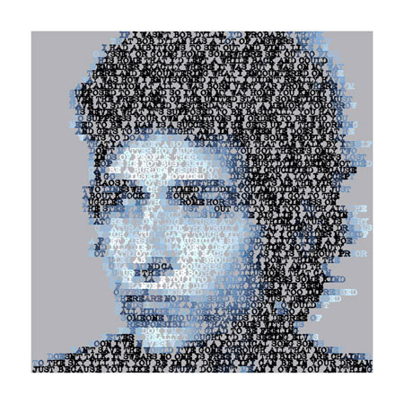 Bod Dylan Quotes (Giclee Signed Limited Edition of 100) by Mike Edwards