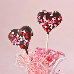 Brownies Valentine Cake Pops