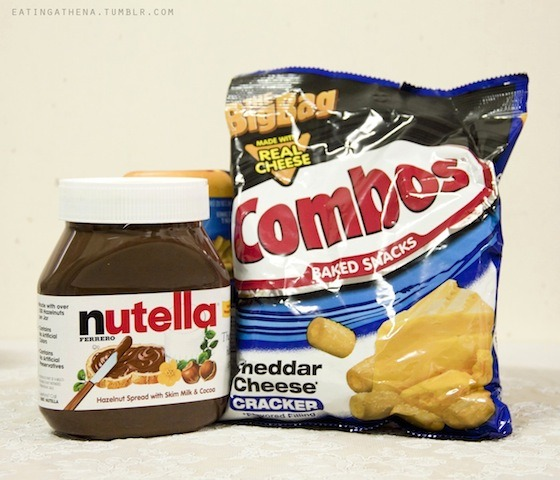 Combos and Nutella ! :D