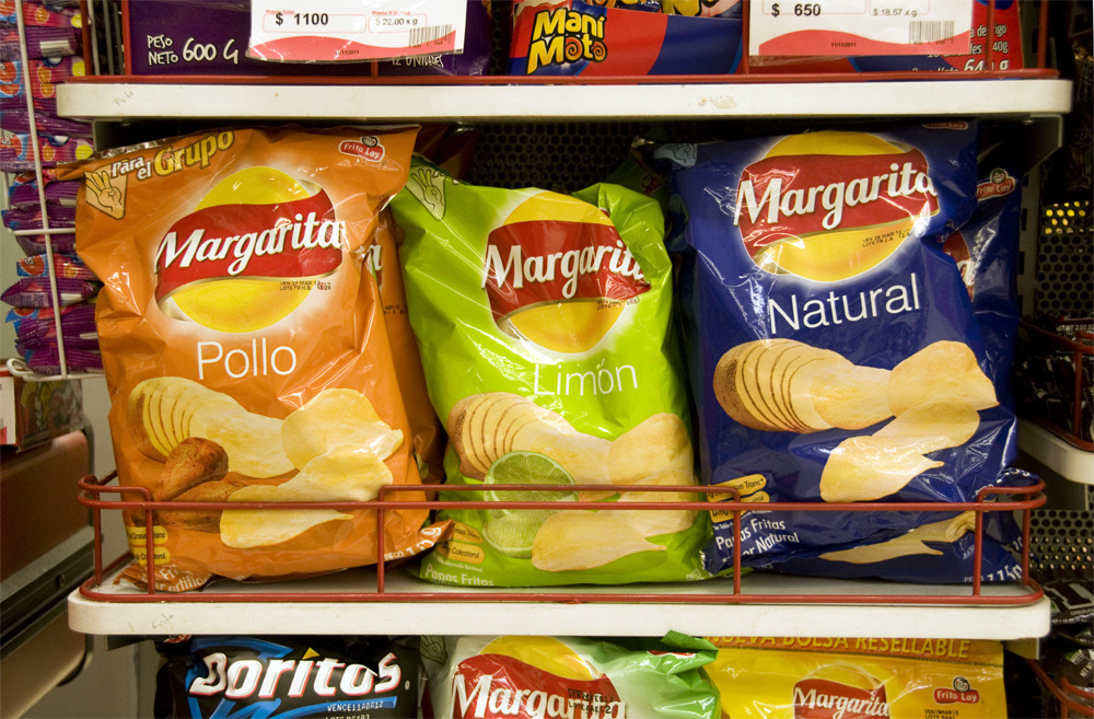 Chicken Flavored Potato Chips Cali, Colombia - © Diego Cupolo 2012