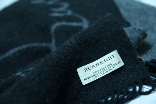 2/3/2012 My favorite brand and my favorite scarf.