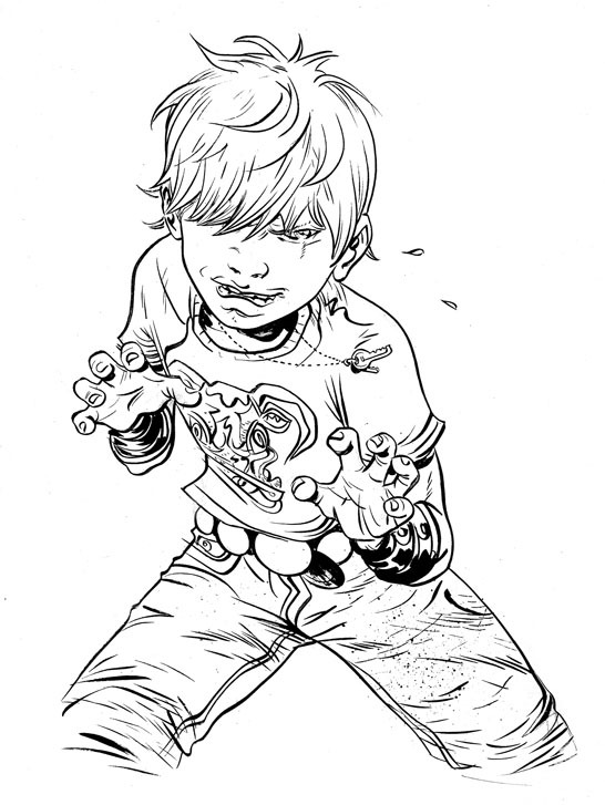 Battling Boy by Paul Pope [ First Second ] via Comic Book Resources Forums