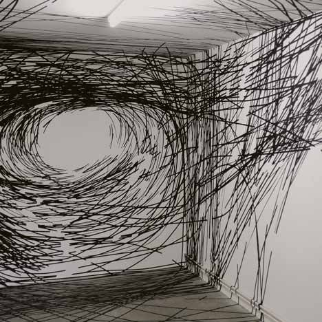 Monika Gryzmala, Adhesive tape (fyeahwomenartists)