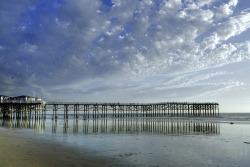 Crystal Pier sunset (by LisaMarieSD)