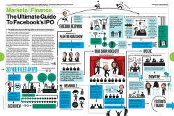 The Ultimate Guide to Facebook's IPO via bizweekdesign