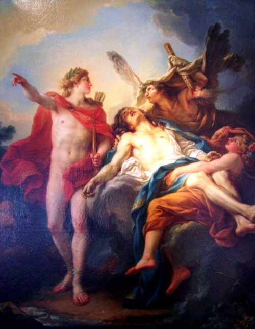 necspenecmetu:  Jean-Simon Berthelemy, Apollo and Sarpedon, c. 1781