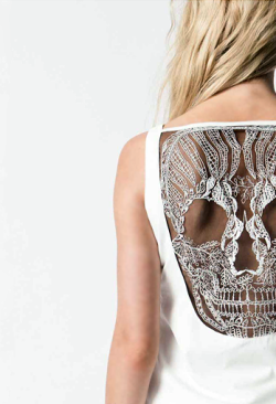 Badass lace detail.