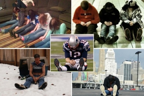 Tebowing = over. All the cool kids are Bradying.