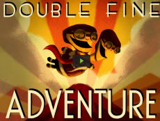 pyreo:  emmyc:  scottlava:  DOUBLE FINE ADVENTURE You guys.  This is an unbelievable thing. Overnight, through Kickstarter, the fans of Double Fine Productions have exceeded the goal for funding the next amazing game.  I cannot believe how wonderful the fans have been to Double Fine through the years.  It makes tears happen on my face. I am proud to have been a part of the Double Fine family all these years.   This particular project is rules, you guys.  Because it is getting back to the adventure game roots!  But also, it involves YOU the COMMUNITY! Watch the video for it to see what i mean.  Backers are involved in the process and the documentary they are making along the way will shed light on the awesome process that goes into making a game.  Oh, man, this is going to be the best. so anyway, the higher it goes over the goal means the more platforms it will be for and the better the game will be. So you can still be a part of it, if you want. Thank you, everyone, who has ever supported Double Fine through these years.  You are great people. this will seriously rule, you guys.  damn. love, scott c.  RECAP: A Kickstarter page goes up requesting $400,000 with 33 days to raise the money. Money is raised within the first 9 hours. In a few hours it will reach $800,000 and possibly keep going all 33 days until it is an obscene amount of money. Big name game companies must be shitting their khaki pants right now I LOVE THIS!!!!  I haven't donated and haven't played much of their games, but I'm following their progress with great interest! The video for the project is adorable, and I can't believe they're nearing a MILLION dollars after just 2 days! It's really amazing and heartwarming so if you didn't hear about this yet, look at these amazing fellas and see if you want to join in. I wish I was a millionaire so I could throw my money at people for them to do the things I like.