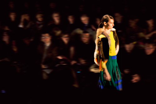 fromme-toyou:  A bit of color, a touch of fur at BCBG