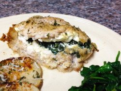Feta and Spinach Chicken